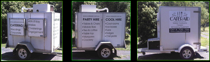 Mobile Coolrooms for Hire